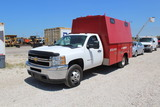 2012 Chevrolet 3500HD Enclosed Utility Service Truck