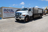 2008 Ford F750 Fuel and Lube Service Truck
