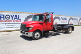 2012 International TerraStar Rolloff Dumpster Truck