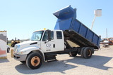 2009 International 4300 DuraStar Extended Cab Dump Truck