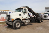 2006 Mack Granite CV713 Tandem Axle Roll Off Truck