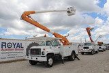 1998 GMC C7500 50ft Insulated Bucket Truck