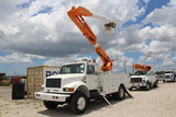 1992 International 4800 4x4 43ft Insulated Material Handling Bucket Truck