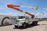1998 International 4900 T/A 67ft Insulated Bucket Truck