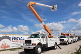 1997 International 4800 4x4 50ft Bucket Truck