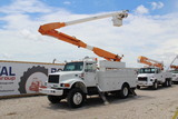 1996 International 4800 4x4 52ft Material Handling Insulated Bucket Truck
