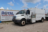 2009 International DuraStar 4300 Utility Compressor Truck