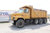 1987 International S-2654 Tri-Axle Dump Truck