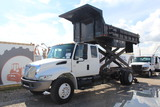 2005 International 4300 Scissor Lift Dump Truck