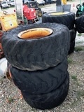3 Over sized Tires and Wheels for Menzi Muck