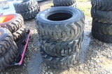 3 Galaxy 12in Skid Steer Tires