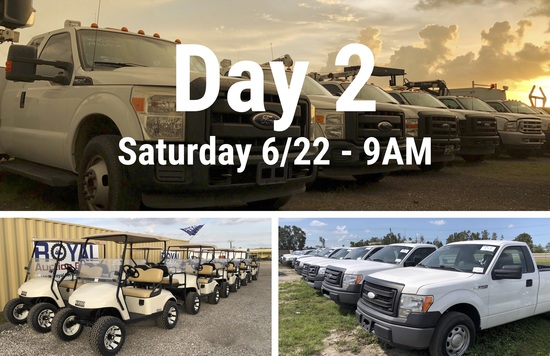 Day 2 Gov't Surplus and Consignment Auction