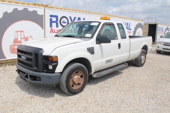2008 Ford F-250 XL Super Duty Ext Cab Pickup Truck