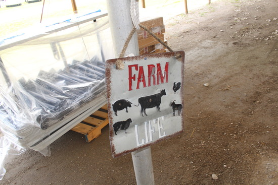 Farm Life Art Sign