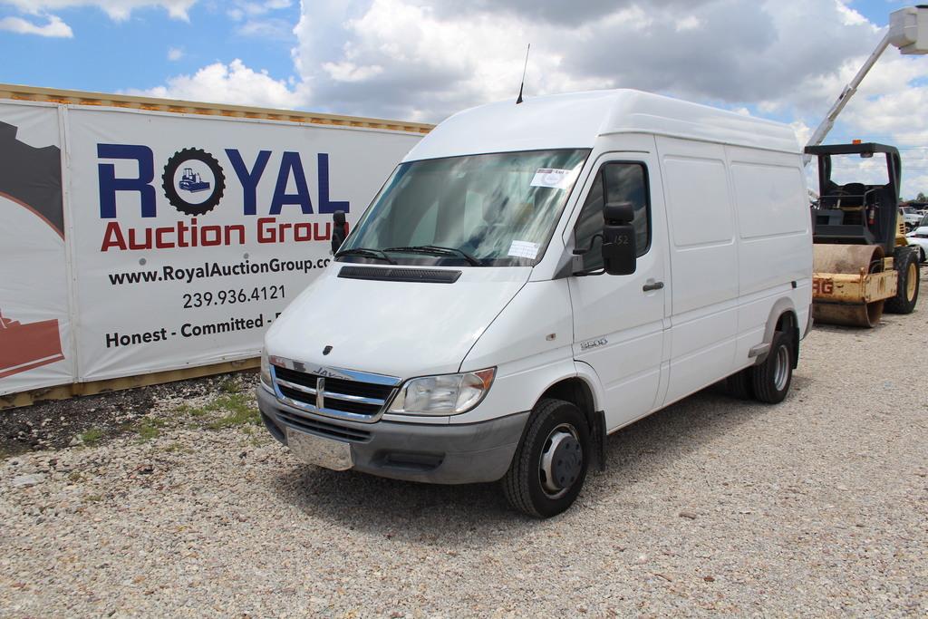 2005 Dodge Sprinter 3500 Diesel Cargo Work Van