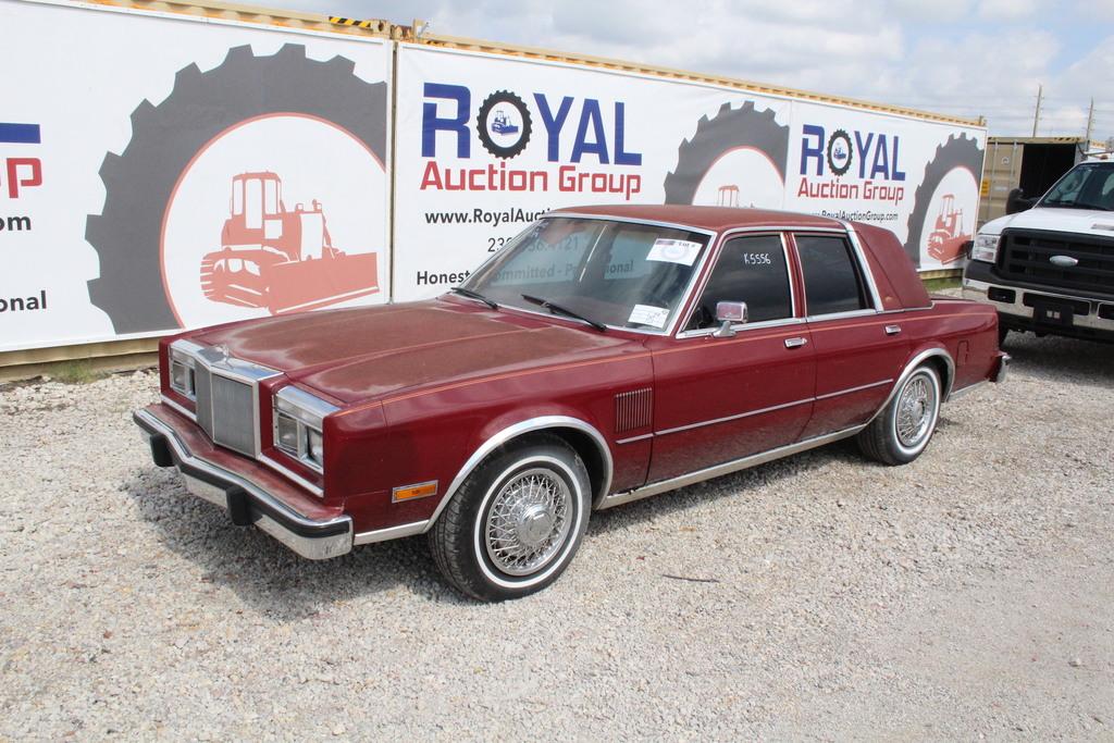 1987 Chrysler 5th Avenue 4 Door Sedan
