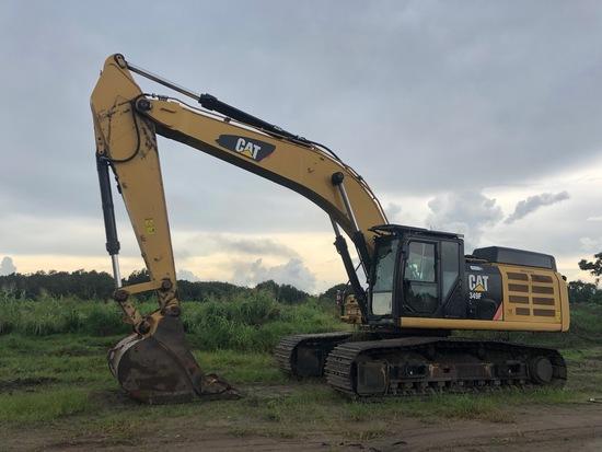 2015 Caterpillar 349F L Hydraulic Excavator