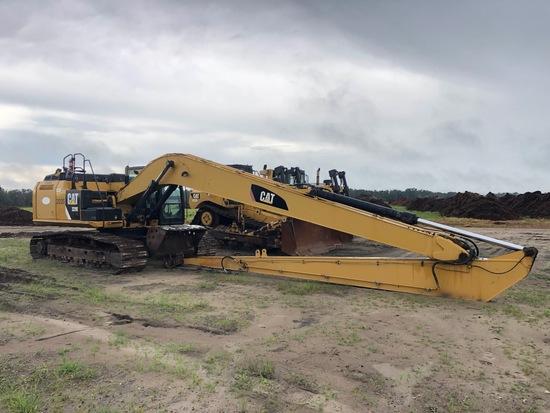 2013 Caterpillar 329E LR Long Reach Boom Hydraulic Excavator