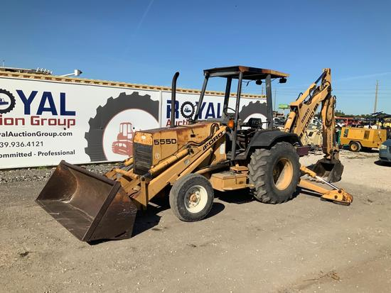 Ford 555D ExtendAHoe Backhoe Loader