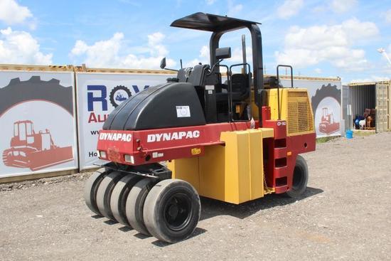Dynapac CP-142 9 Wheel Pneumatic Roller