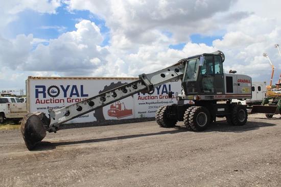 2010 Gradall XL3300 III 4x4 Mobile Excavator