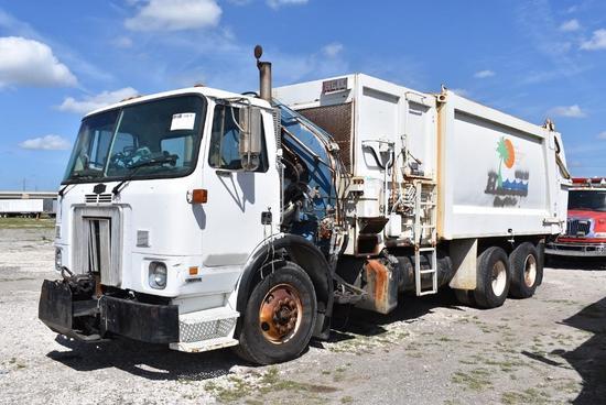 2003 Autocar / Heil Side Loader Garbage Truck