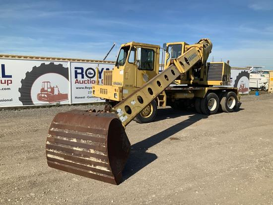 Gradall XL 4100 6x6 Mobile Excavator