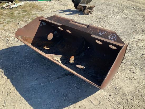 70in Excavator Grading Bucket