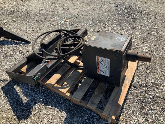 Auger Attachment for Skid Steer
