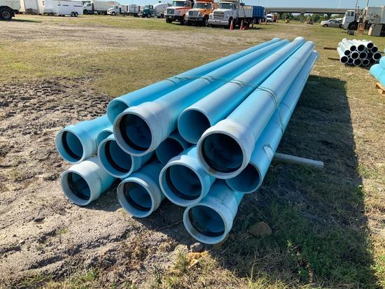 Large Bundle of Commercial Pipes