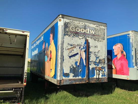 Wabash 28ft Single Axle dry van trailer