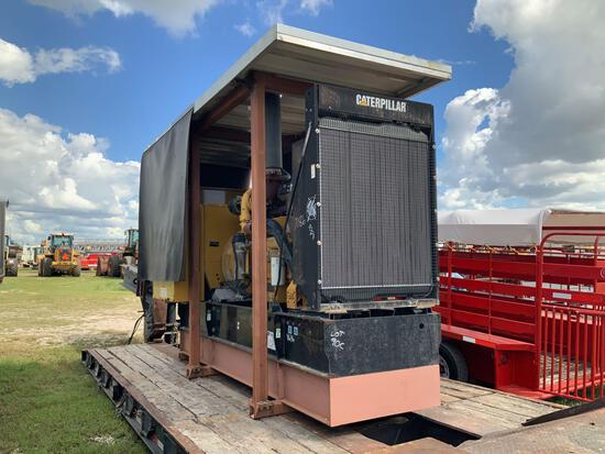 2004 Caterpillar SR4B 455KW Diesel 3 Phase Generator Set