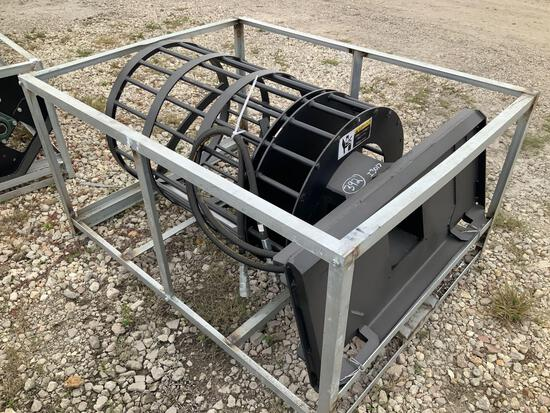 Unused Hydraulic Skid Steer Rock Screening Attachment
