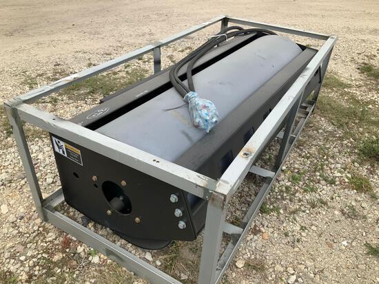 Unused 72in Hydraulic Skid Steer Vibratory Roller