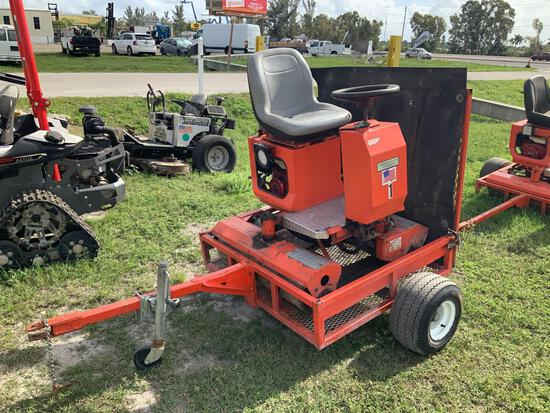 Salsco Greens Roller With Trailer