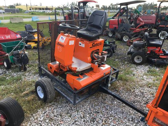Salsco Greens Roller 09010 with Trailer