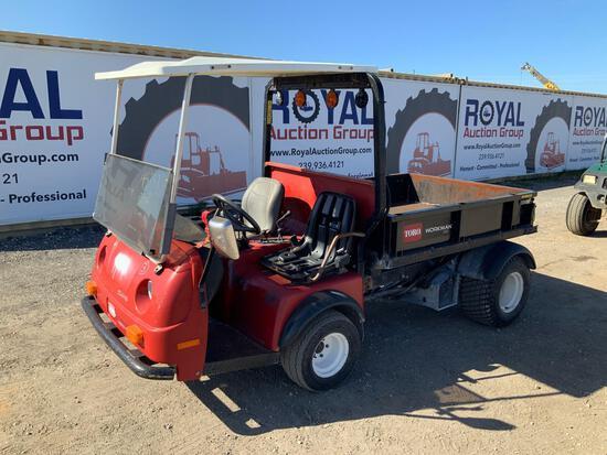 Toro Workman HD 4x4 Dump Cart
