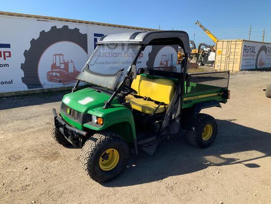 John Deere Gator HPX 4x4 Dump Cart