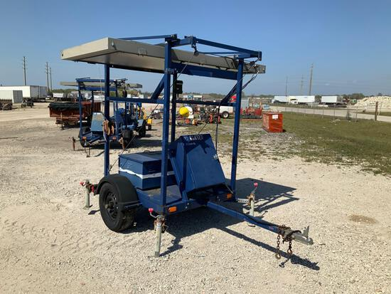 2006 Precision Solar Controls Tow Behind Sign Board