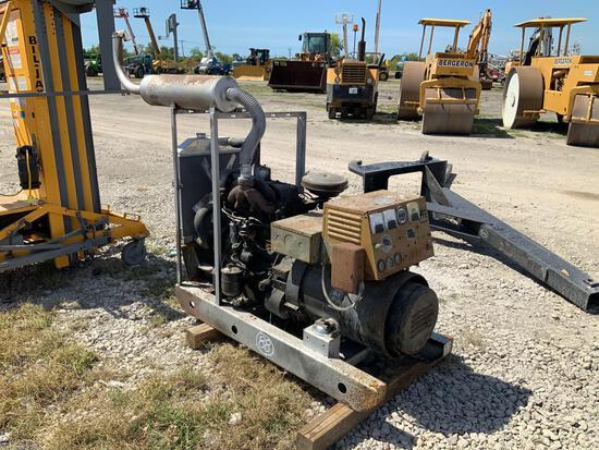 25KW 3 Phase Generator Power Unit