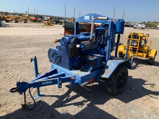 Thompson Tow Behind SN4V 4in DIesel Pump