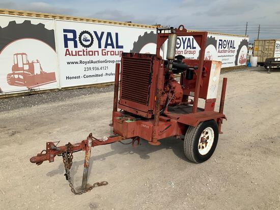D & D Portable Hydraulic Pump