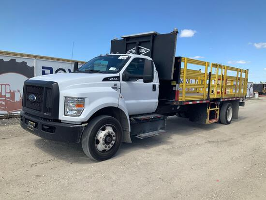 2018 Ford F-650 Flatbed Safety MOT Truck