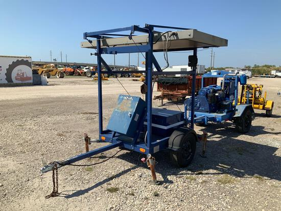 2007 Precision Solar Controls Tow Behind Sign Board
