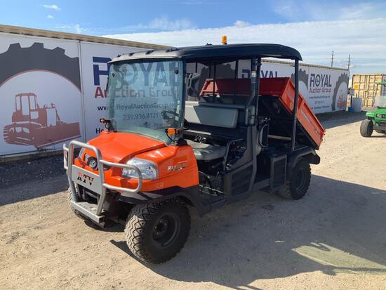 Kubota RTV 1140CPX 4x4 Dump Cart