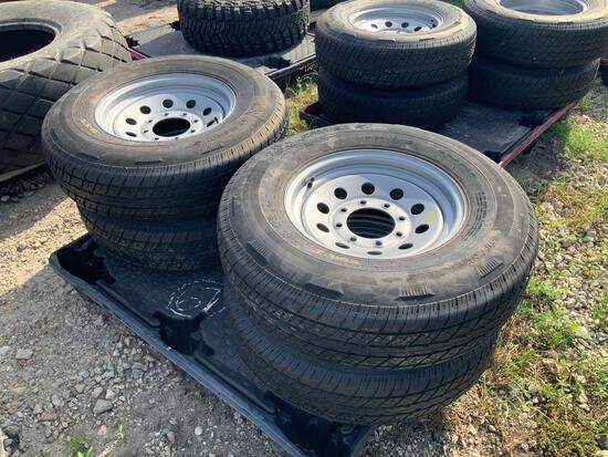 4 Unused 235/80R16 Tires