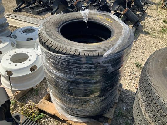 4 Michelin LT245/75R17