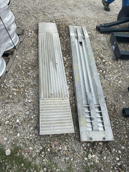 2 Aluminum Ramps