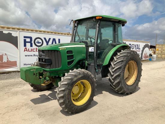 2008 John Deere 6100D 4x4 Tractor