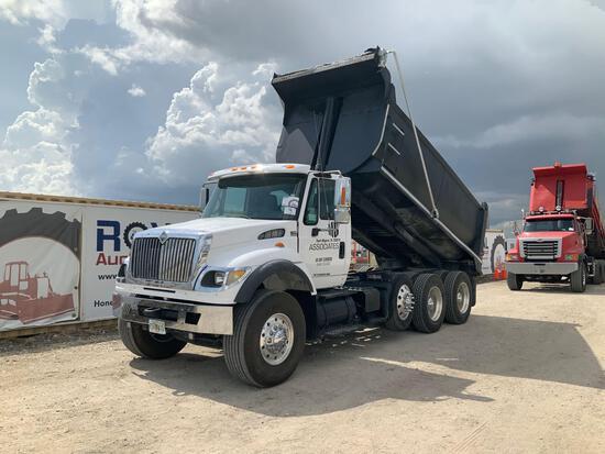 2006 International 7600 Tri-Axle Dump Truck
